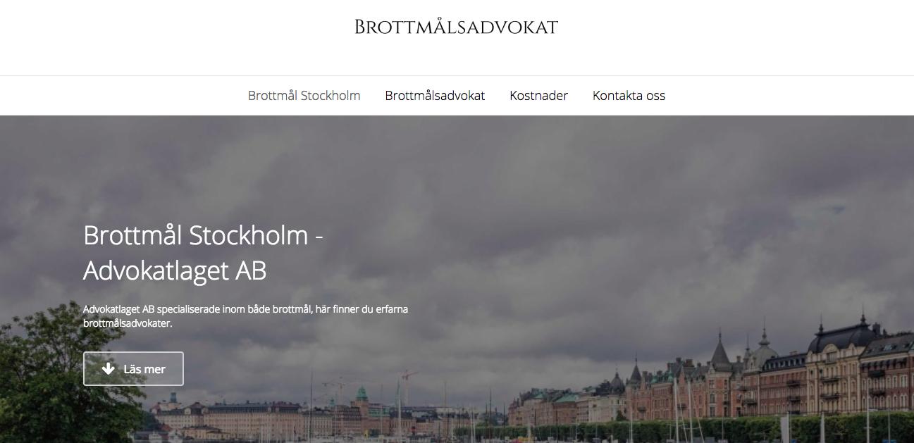 brottmål stockholm