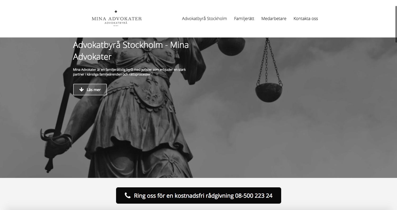 advokatbyrå stockholm