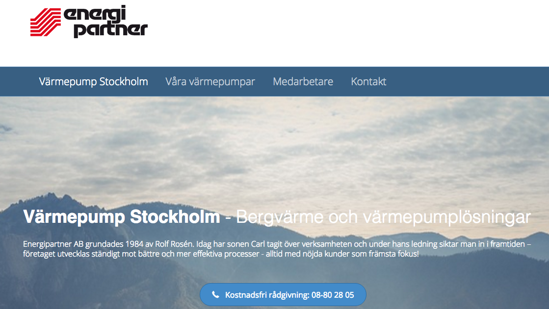 värmepumpar Stockholm