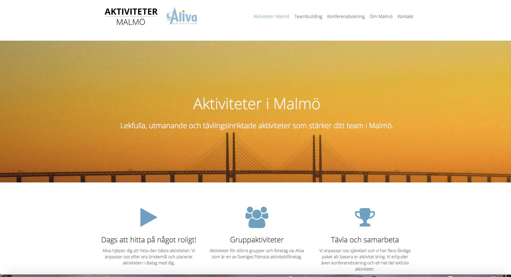 aktiviteter Malmö